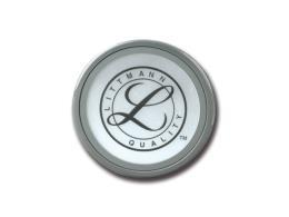 ANELLO + MEMBRANA - per Littmann Classic II, Select, Master classic, Cardio III (lato grande) - grigio