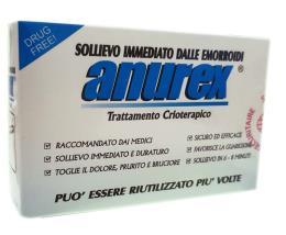 ANUREX SOLLIEVO IMMEDIATO DALLE EMORROIDI