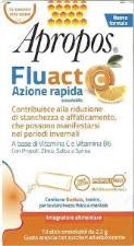APROPOS® FLUACT AZIONE RAPIDA GUSTO ARANCIA - 10 STICK OROSOLUBILI DA 2,2 G