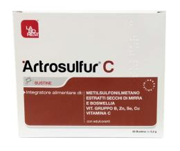 ARTROSULFUR® C 28 BUSTINE DA 5,2 G