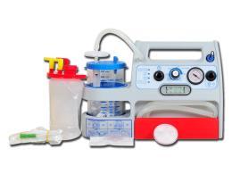 ASPIRATORE MINI ASPEED EVO A BATTERIA - 1 l - per ambulanza