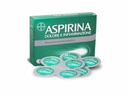 ASPIRINA DOLORE E INFIAMMAZIONE 500MG - 8 COMPRESSE RIVESTITE