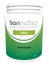 BARINUTRICS FERRO GUSTO FRAGOLA 90 COMPRESSE