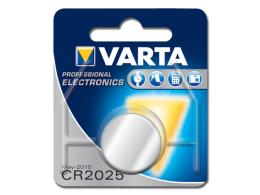 BATTERIA LITIO BOTTONE VARTA 2025