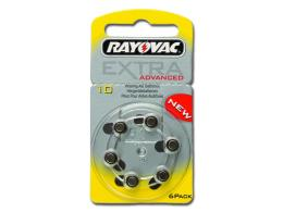 BATTERIE ACUSTICA RAYOVAC 10 - senza mercurio