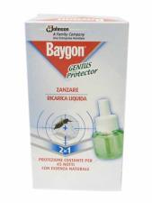 BAYGON GENIUS PROTECTOR ANTI ZANZARE RICARICA LIQUIDA 2 IN 1