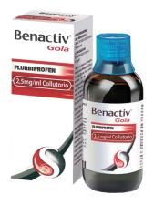 BENACTIV GOLA COLLUTORIO 160 ML
