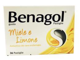 BENAGOL GUSTO MIELE E LIMONE 36 PASTIGLIE