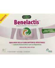 BENELACTIS INTEGRATORE ALIMENTARE PER L'EQUILIBRIO DELLA FLORA BATTERICA INTESTINALE - GUSTO VANIGLIA - 12 BUSTINE
