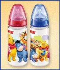 BIBERON NUK DISNEY 150 ml First Choice in silicone 0-6m foro M