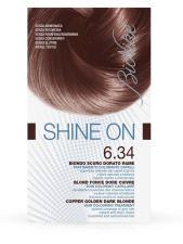 BIONIKE SHINE ON TRATTAMENTO COLORANTE PER CAPELLI 6.34 BIONDO SCURO DORATO RAME