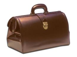 "BORSA ""SUPERTEXAS PELLE"" - marrone"
