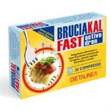 BRUCIAKAL FAST ACTIVE DREN - 30 COMPRESSE