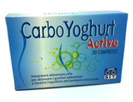 CARBO YOGHURT ACTIVE 30 Compresse