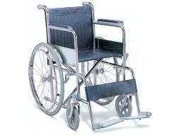 CARROZZINA STANDARD - seduta 50 cm - tessuto blu