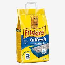 CAT FRESH LETTIERA CLASSIC LT. 8 KG. 5 - 4 CONFEZIONI