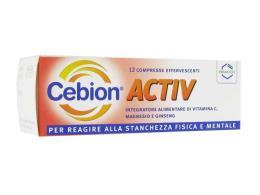 CEBION ACTIV 12 COMPRESSE EFFERVESCENTI
