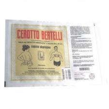 CEROTTO BERTELLI ANTINFIAMMATORIO E ANTIDOLORIFICO GRANDE 16x24 CM