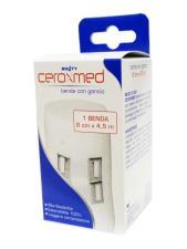 CEROXMED BENDA ELASTICA CON GANCIO 8 CM x 4.5 M