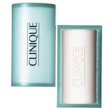 CLINIQUE ANTI-BLEMISH SOLUTIONS CLEANSING BAR FOR FACE AND BODY - SAPONE PER VISO E CORPO CON PORTASAPONE 150 gr