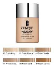 CLINIQUE ANTI-BLEMISH SOLUTIONS LIQUID MAKE UP - FONDOTINTA ANTI ERUZIONI CUTANEE - 02 FRESH IVORY - 30 ML