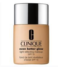 CLINIQUE EVEN BETTER GLOW LIGHT REFLECTING FONDOTINTA SPF 15 N. WN76 TOASTED WHEAT