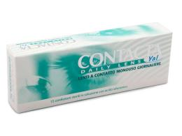 CONTACTA DAILY LENS YAL LENTI A CONTATTO MONOUSO GIORNALIERE 3,00