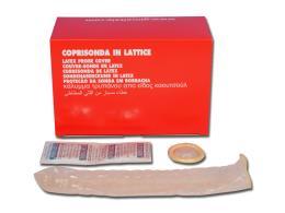COPRISONDA IN LATTICE - trasparente - conf. 50 pz.
