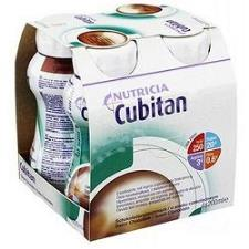 CUBITAN SUPPLEMENTO NUTRIZIONALE ENERGETICO SPECIFICO PER PAZIENTI CON PIAGHE DA DECUBITO - GUSTO CIOCCOLATO - 4 x 200 ML