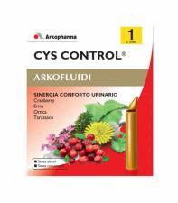 CYS CONTROL ARKOFLUIDI - PER LA FUNZIONALITA' DELL'APPARATO URINARIO - 10 FLACONCINI DA 15 ML