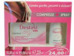 DESTASI VEN KIT 20 COMPRESSE + SPRAY 200 ML