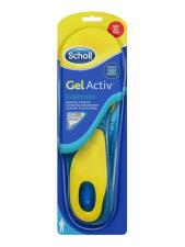 DR SCHOLL GEL ACTIV EVERYDAY SOLETTE USO QUOTIDIANO UOMO TAGLIE 42-48