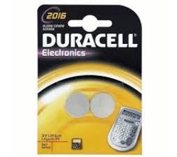 DURACELL ELECTRONICS 2016 2 PEZZI