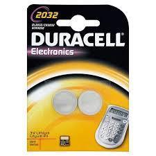DURACELL ELECTRONICS 2032 2 PEZZI