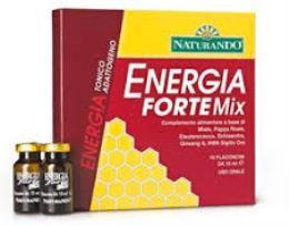 ENERGIA FORTE MIX INTEGRATORE ALIMENTARE ENERGETICO - 10 FLACONCINI DA 10 ML