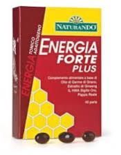 ENERGIA FORTE PLUS INTEGRATORE ALIMENTARE UTILE IN CASO DI STANCHEZZA FISICA E MENTALE - 40 PERLE