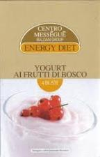 ENERGY DIET MESSEGUE YOGURT AI FRUTTI DI BOSCO 4 BUSTE