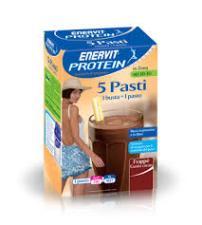ENERVIT PROTEIN 5 PASTI FRAPPE' GUSTO CIOCCOLATO 5 BUSTE DA 53 G