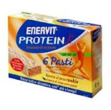ENERVIT® PROTEIN 6 PASTI GUSTO COOKIE - 6 BARRETTE DA 53 G