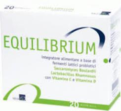 EQUILIBRIUM INTEGRATORE ALIMENTARE DI FERMENTI LATTICI PROBIOTICI - 20 BUSTE