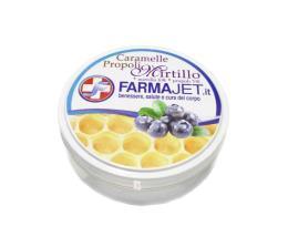 FARMAJET CARAMELLE PROPOLI E MIRTILLO - 30 G