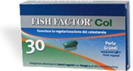 FISH FACTOR COL Integratore alimentare omega 3 30 perle grandi
