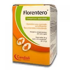 FLORENTERO - MANGIME COMPLEMENTARE PER CANI E GATTI - 30 COMPRESSE