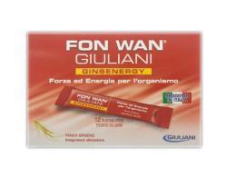 FON WAN GIULIANI GINSENERGY - 12 BUSTINE DA 10 ML