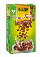 GIUSTO SENZA GLUTINE - CORN FLAKES CON CACAO - 250 G