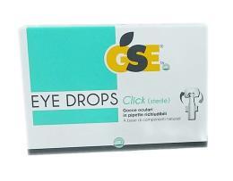 GSE® EYE DROPS CLICK GOCCE OCULARI 10 PIPETTE DA 0,5 ML
