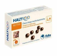 HALYKOO CHOCO DROPS MULTIVITAMINICHE - 20 DROPS