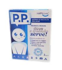 HAPPY COVER P.P. - SISTEMA DI RACCOLTA PER URINE - 3 PEZZI