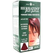 HERBATINT® FLASH FASHION TINTA PER CAPELLI FF1 ROSSO HENNE - 135 ML