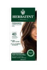 HERBATINT TINTA PER CAPELLI 4D CASTANO DORATO - 150 ML